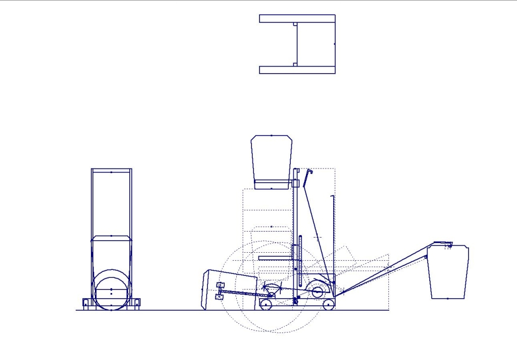 Introduced to the team last year this Geometry was created in AutoDesk Inventor as a place to experiment with mechanism placements and size constraints as well as a reference file for how the mechanisms will fit together.